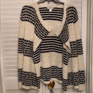 Loft size small open sweater